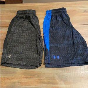 Men's Under Armour athletic shorts Bundle